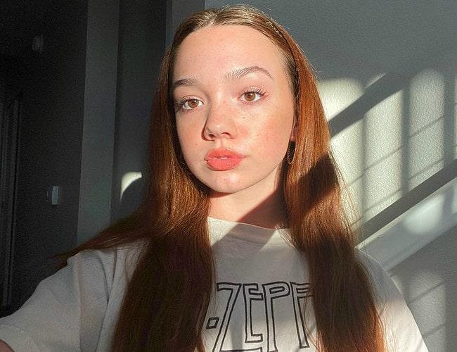 Ruby Jay in an Instagram selfie as seen in November 2019