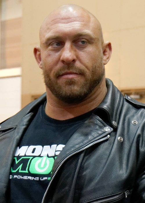 Ryback as seen in a picture taken on April 3, 2014