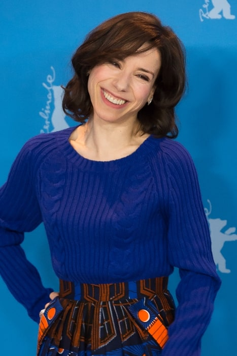 Sally Hawkins at the presentation of the movie 'Maudie' at the Berlinale 2017
