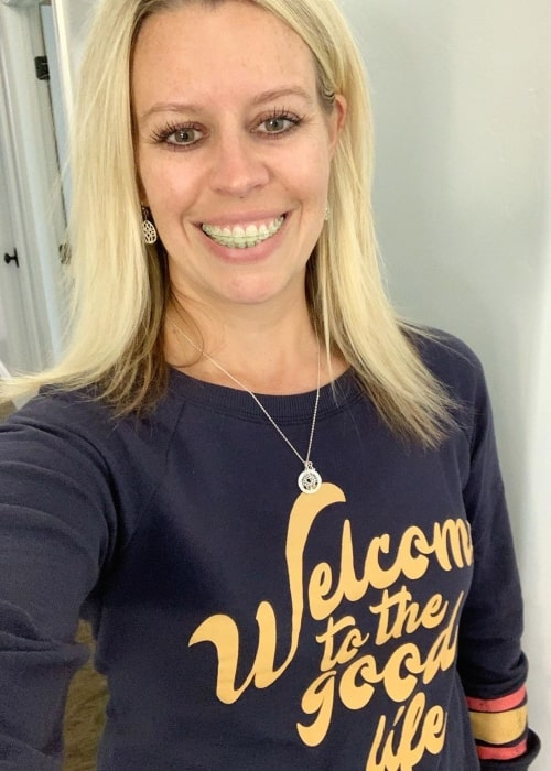 Sarah Tannerites as seen in a selfie taken in October 2019