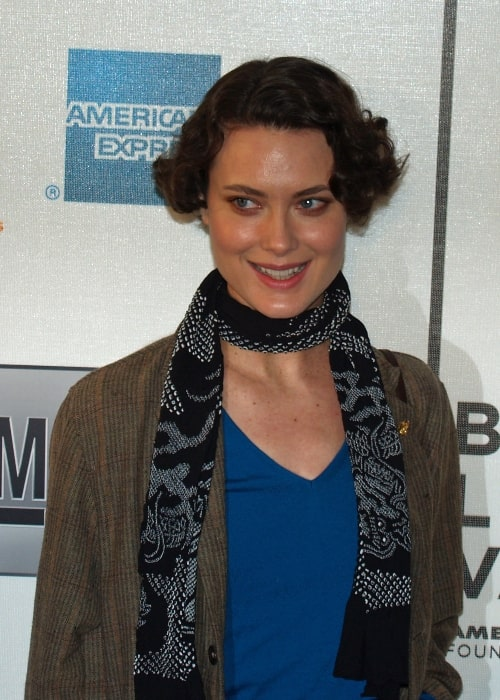 Shalom Harlow as seen during an event in 2007