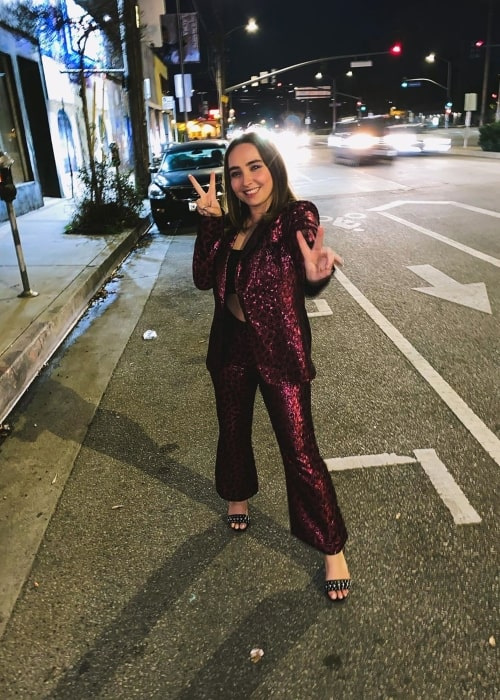 Shannon Carpenter as seen in a picture taken in while on a night out in January 2020