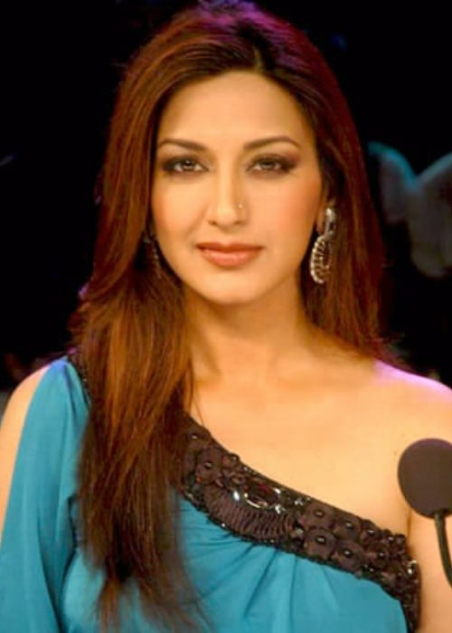 Sonali Bendre as seen on the sets of 'India's Got Talent' in August 2011