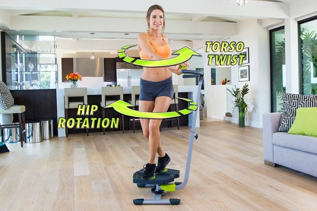Star Uno Twist and Shape Abs Trainer Use