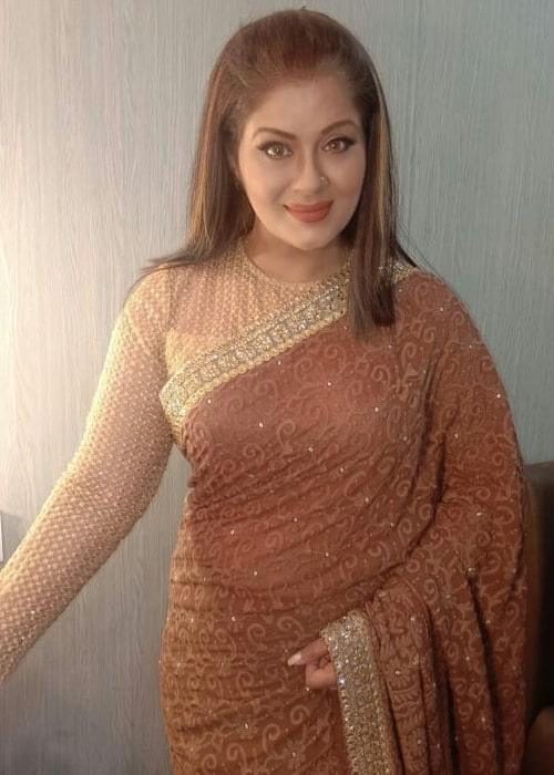 Sudha Chandran as seen in an Instagram Post in August 2019