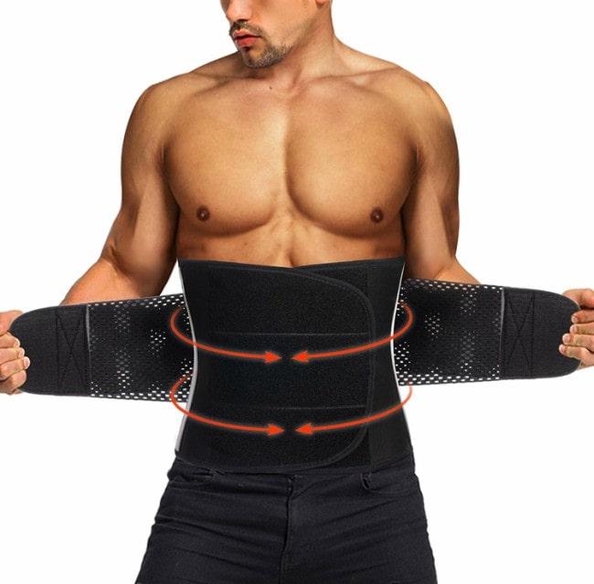 Tailong Men Waist Trainer Belt