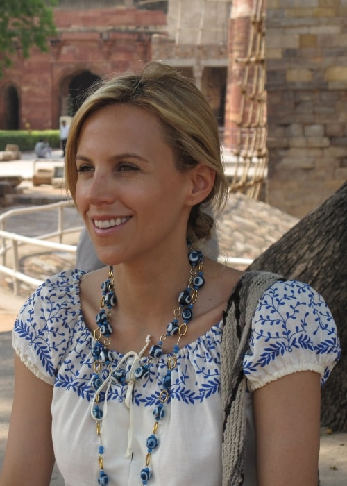 Tory Burch as seen in a picture taken during her visit to India in 2009