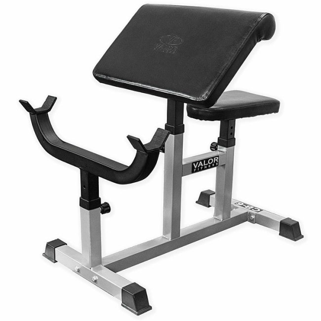 Valor Fitness CB Preacher Curl Bench