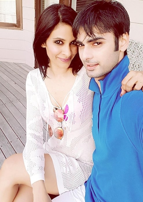 Varun Kapoor with his wife in September 2017