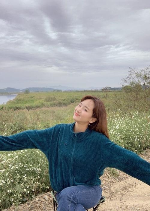 Won Jin-ah as seen in October 2019