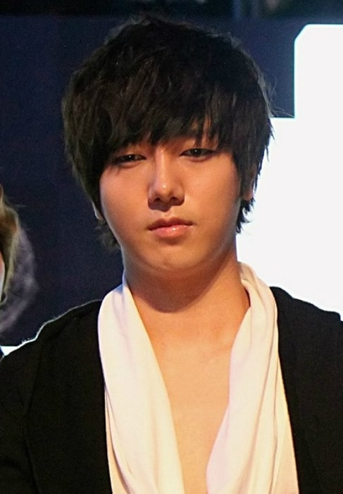 Yesung as seen at Mnet Asian Music Awards (MAMA) in Singapore in November 2011