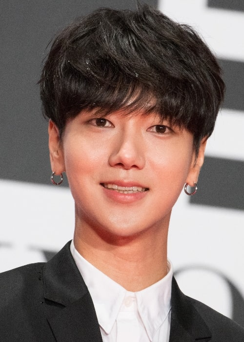 Yesung as seen at the Opening Ceremony of Tokyo International Film Festival 2016