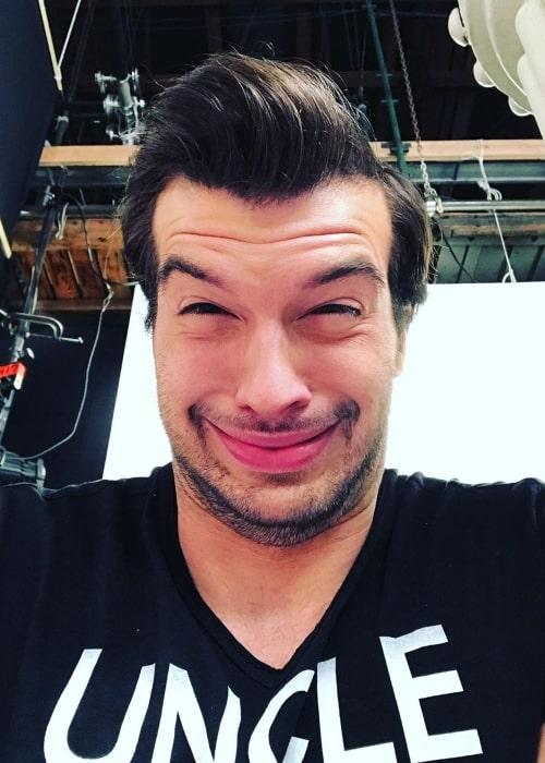 Adam Hagenbuch as seen in a selfie taken in August 2019