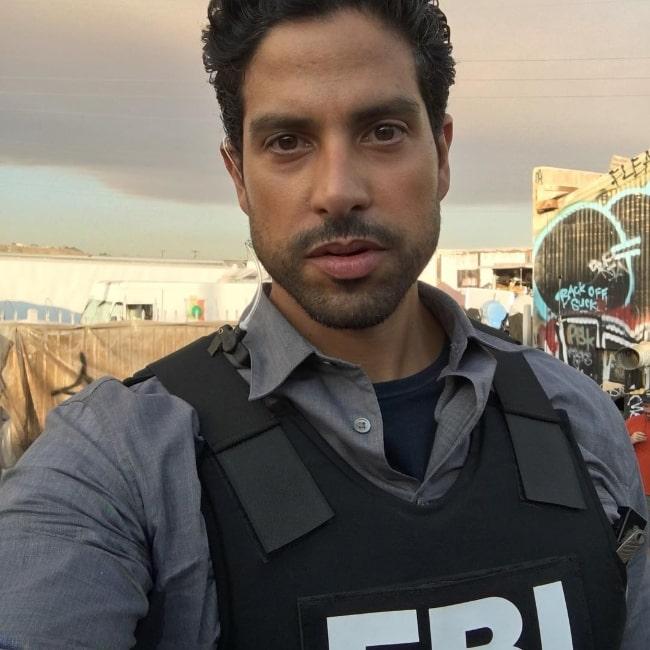 Adam Rodriguez as seen in a selfie in July 2016