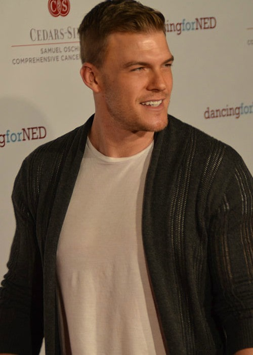 Alan Ritchson as seen in June 2015