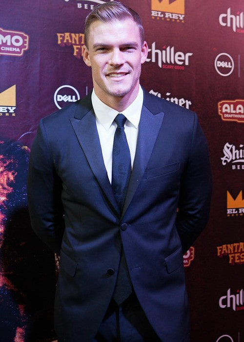 Alan Ritchson as seen in September 2015
