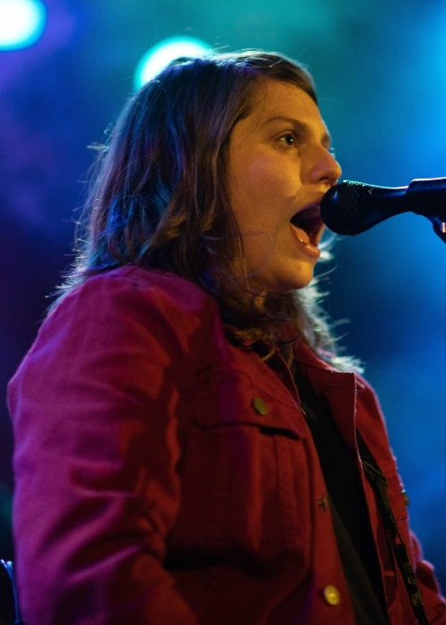 Alex Lahey as seen in a picture taken on December 15, 2019 during a concert