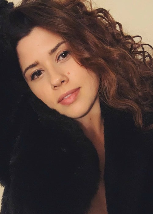 Amber Coney in a selfie as seen in November 2018