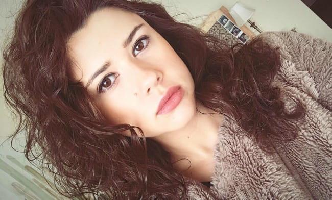 Amber Coney in an Instagram selfie as seen in January 2018