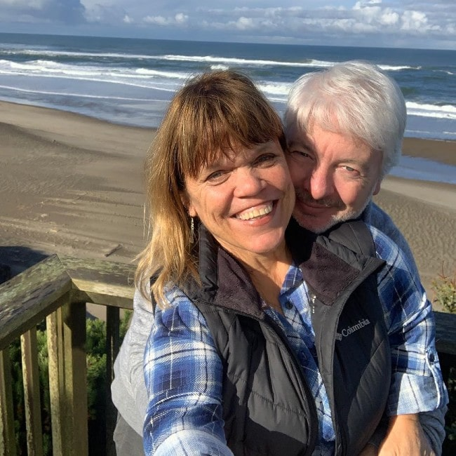 Amy Roloff with her fiance Chris as seen in March 2020