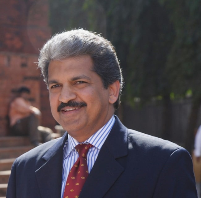 Anand Mahindra as seen in February 2007