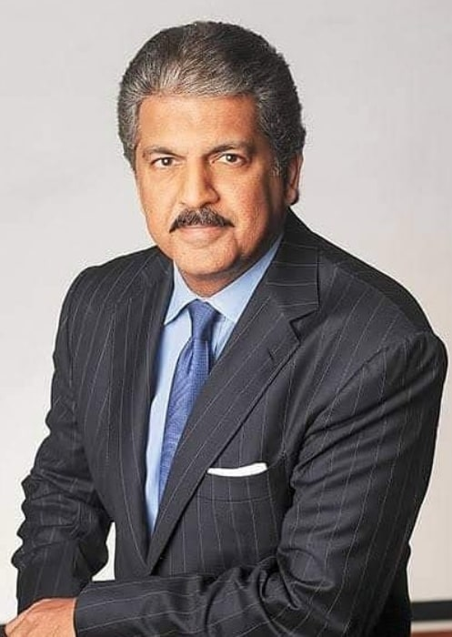 Anand Mahindra as seen in the past