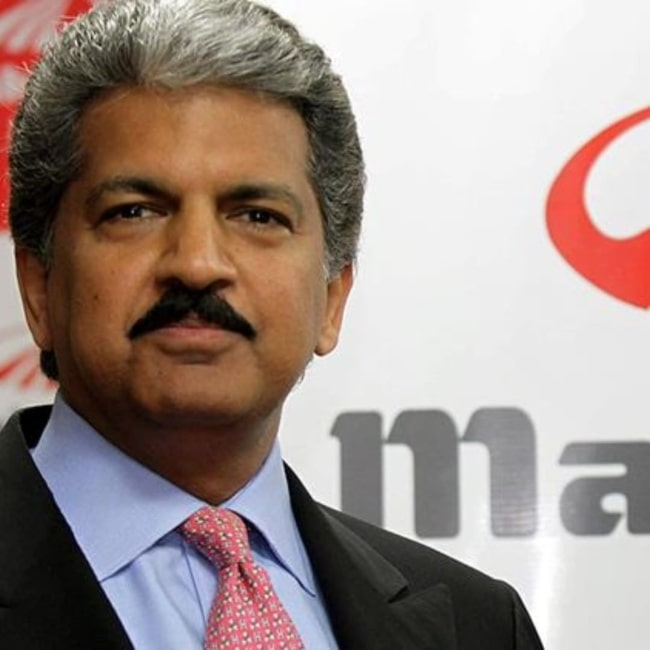 Anand Mahindra in April 2020