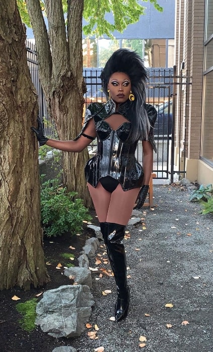Asia O'Hara posing for a picture in Vancouver, British Columbia in September 2019