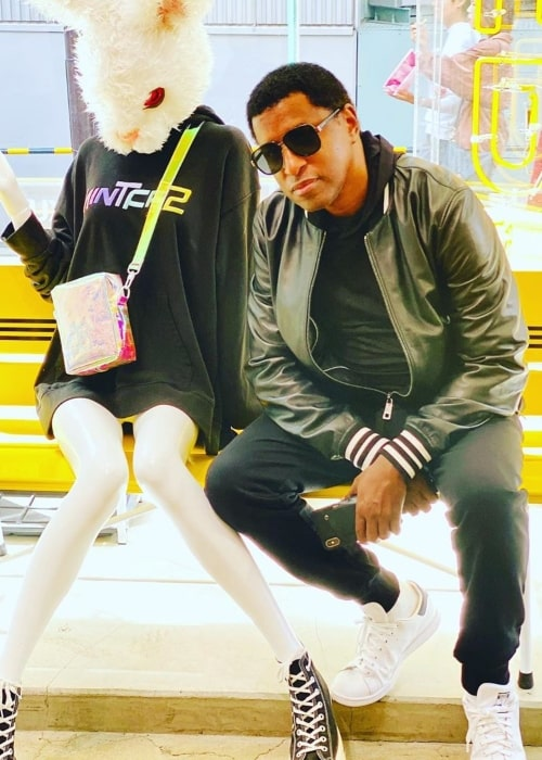Babyface as seen in a picture taken in Tokyo in October 2019