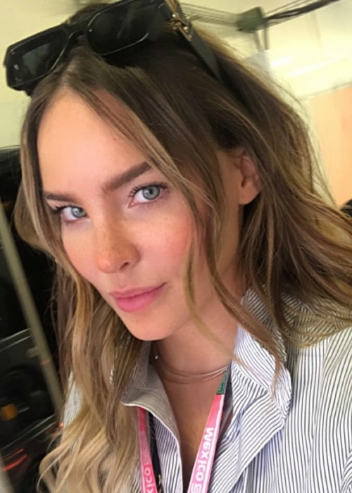 Belinda Peregrín in an Instagram post as seen in October 2019
