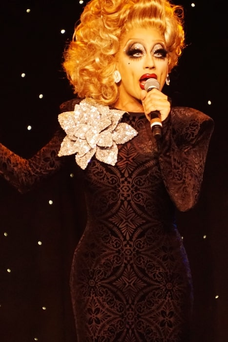 Bianca Del Rio as seen while performing live