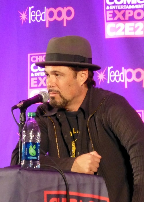 Carlos Bernard as seen at the '24' panel at C2E2 2014
