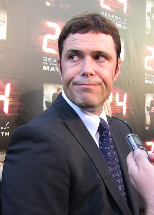 Carlos Bernard at TV series 24's season 7 finale screening at Wadsworth Theatre, Los Angeles, California in May 2009