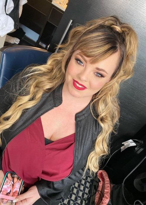 Catelynn Baltierra as seen in a picture taken in February 2020