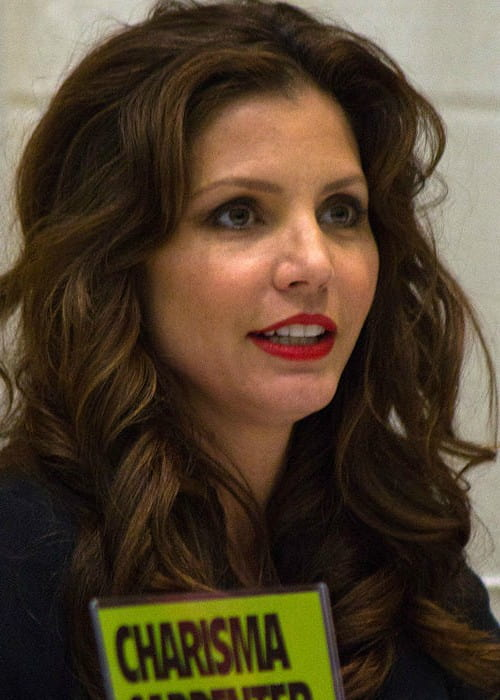 Charisma Carpenter at Toronto Comic-Con in March 2012