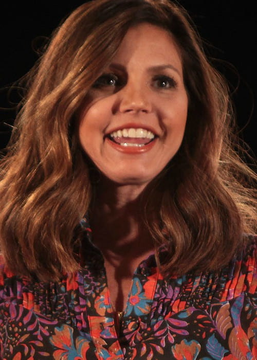 Charisma Carpenter at the 2015 Phoenix Comic-Con