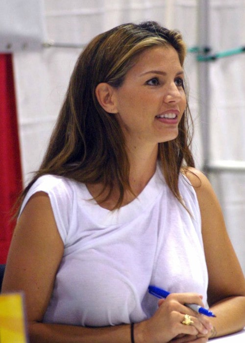 Charisma Carpenter at the Fan Expo 2007 Convention in Toronto