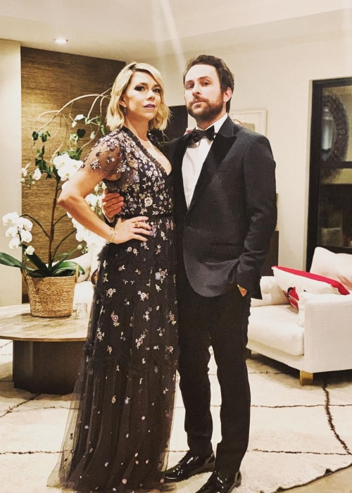 Charlie Day and Mary Elizabeth Ellis, as seen in January 2020