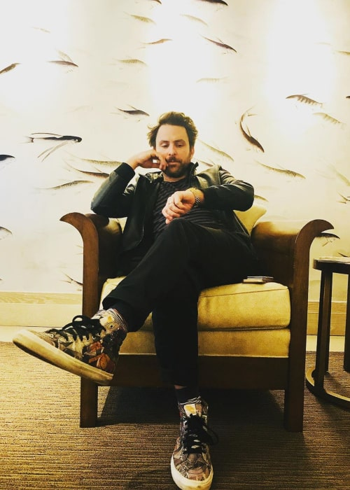 Charlie Day as seen in an Instagram Post in October 2019