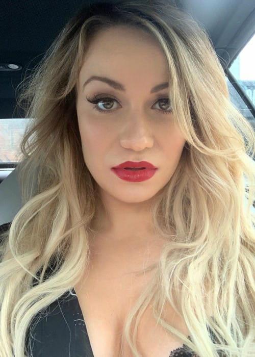 Chelsey Reist in an Instagram selfie as seen in November 2019