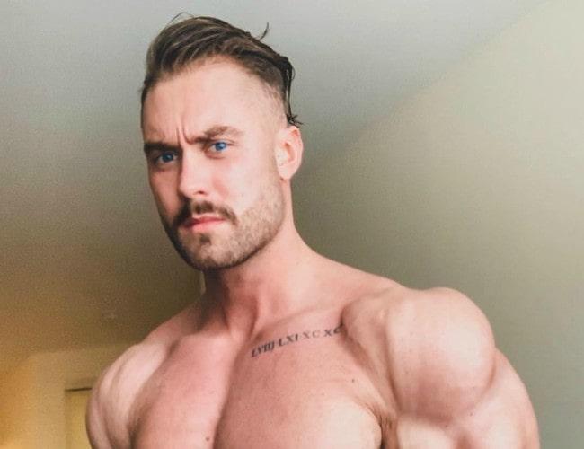 Chris Bumstead in an Instagram post as seen in October 2018