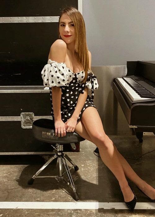 Claudia Vergara as seen in January 2020