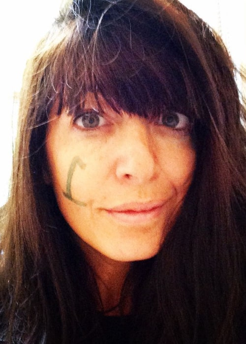 Claudia Winkleman as seen in an Instagram Post in September 2015