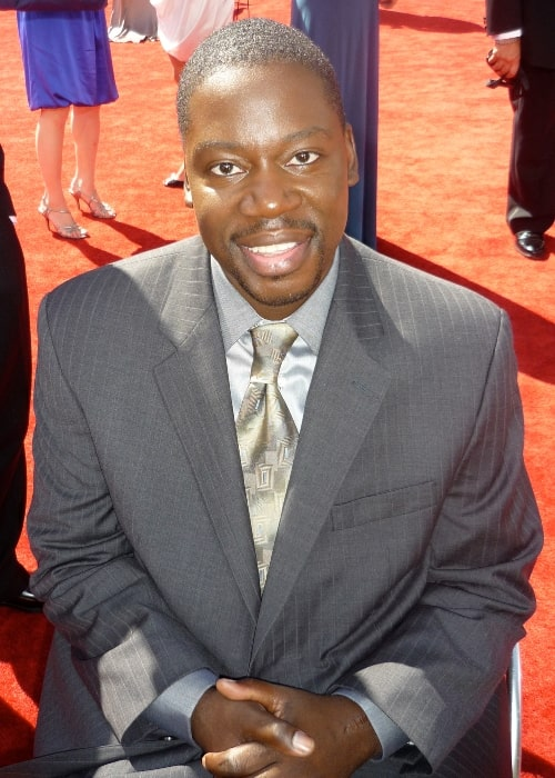 Daryl Mitchell as seen in a picture taken at the Emmys in September 2009