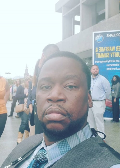 Daryl Mitchell as seen in a selfie taken in New Orleans, Louisiana in February 2020