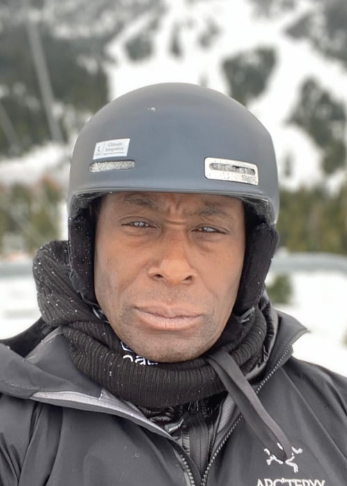 David Harewood as seen in an Instagram Post in January 2020
