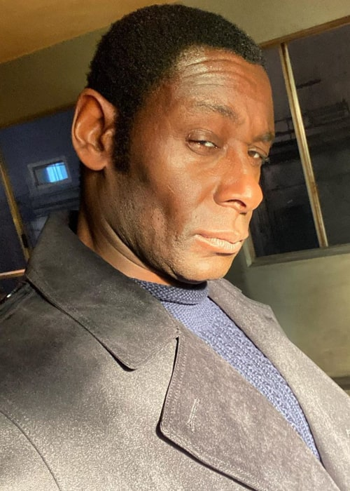 David Harewood in an Instagram selfie from March 2020