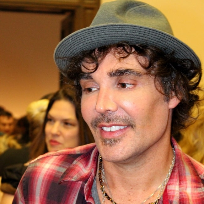 David LaChapelle at the launching of his exhibition in Galerie Rudolfinum in Prague in December 2011