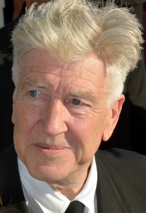 David Lynch during an event in June 2017