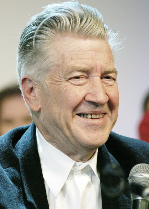 David Lynch in Moscow as seen in April 2009